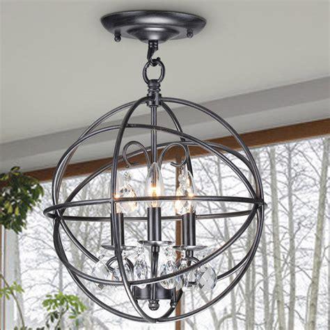 benita 5 light antique bronze metal globe chandelier benita 3 light antique bronze metal globe flush