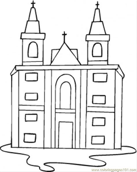 coloring pages catholic church other gt religions free