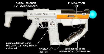 sony's playstation move sharp shooter hitting stores soon