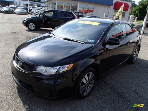 2013 Kia Forte Black 2013 Black Kia Forte Koup Ex 84617680 Photo 4