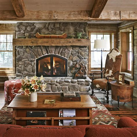 Rustic Fireplace would rather have a rustic fireplace if you want to use the idea of