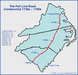 carolina the fall line road