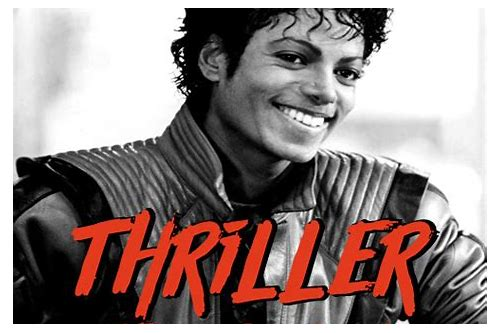 michael jackson thriller mp4 telecharger gratuit