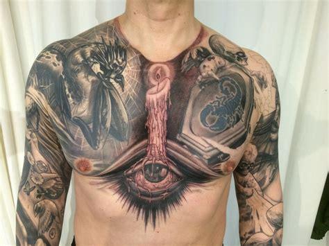 black amp gray vip tattoo