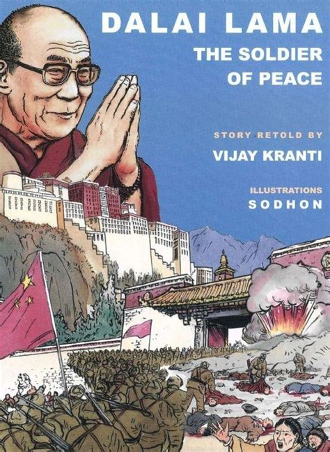 Buku Komik Graphic Novel Dalai Lama Dalai Lama The Soldier Of Peace Graphic Novel