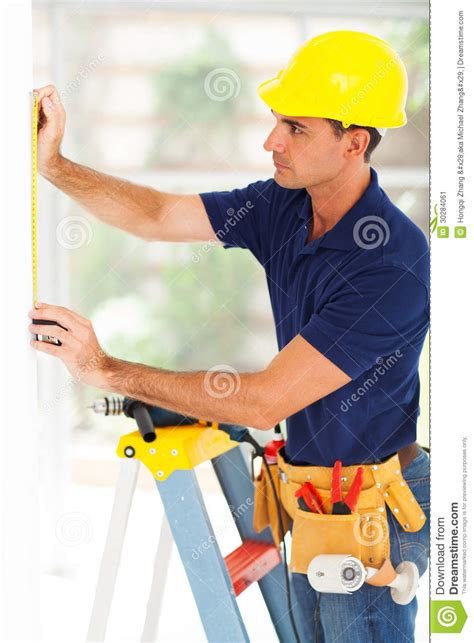 Security Systems Installer by Security System Installer Stock Image Image 30284061