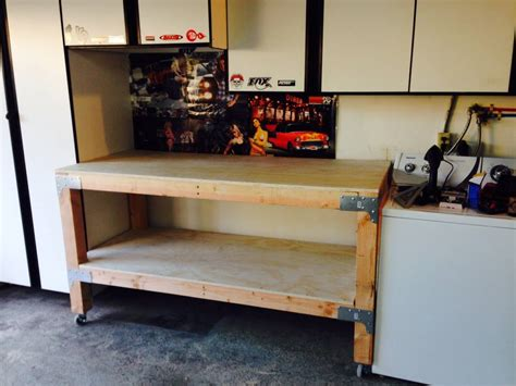 bench solution diy homemade work bench impossible solution blog