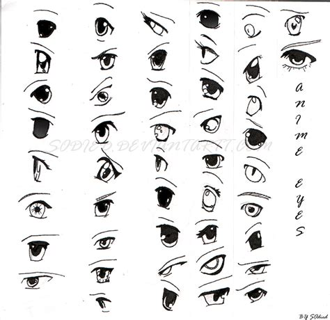 anime eyes 1 0 by sodied on deviantart