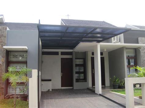 desain atap rumah seng desain kanopi rumah minimalis sederhana bahan atap seng