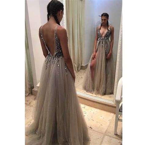Kitchen And Bath Designer Jobs backless rhinestone prom dress long tulle prom dresses
