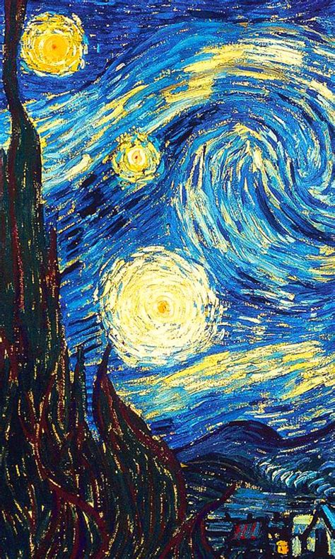 android wallpaper van gogh van gogh starry night android wallpaper galleryimage co