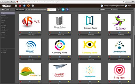 name design editor online free youidraw logo creator chrome web store