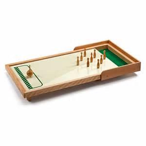 tisch kegelspiel aus holz meraner tischkegelspiel manufactum shop