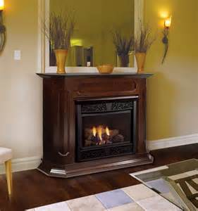 Ventless Fireplace Gas Logs by Chesapeake 24 Inch Vent Free Gas Fireplace Remote Ready