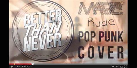 tutorial gitar rude jukebox magic pernah dengarkan rude versi pop punk