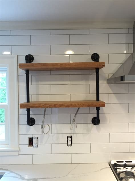 Gas Pipe Wall Shelf Page 4 Of 4 A Concord Carpenter Gas Pipe Shelving