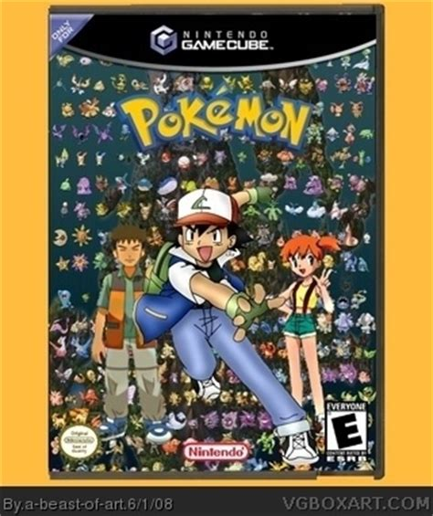pokemon gamecube box art cover by a beast of art