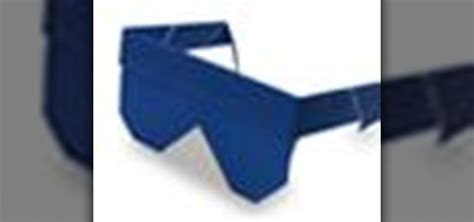 Origami Sunglasses - how to origami sunglasses japanese style 171 origami