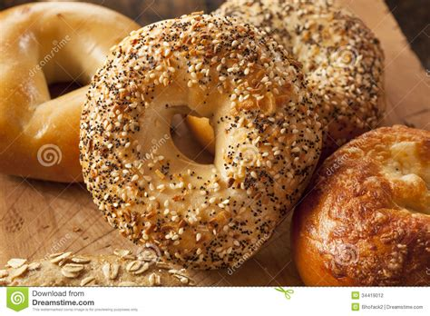 1 whole grain bagel calories bagel health day program