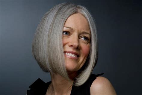 gray hair bob haircuts short hairstyles for older women