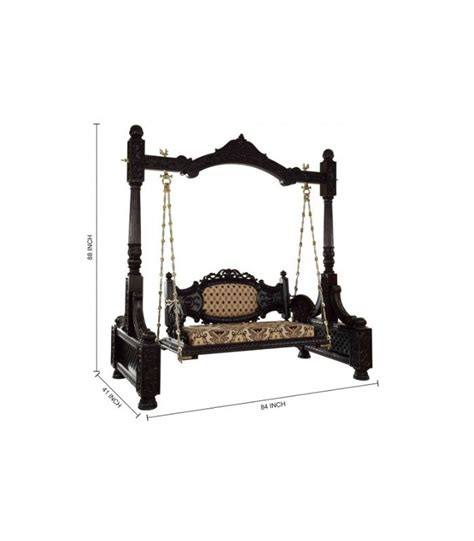 jhula swing buy traditional indoor swing for home from teak wood