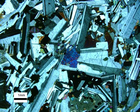 Igneous Rock Textures In Thin Section by Poikilitic
