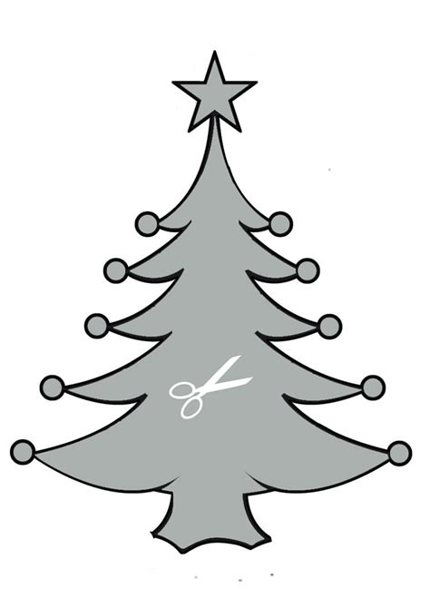christmas tree stencil printable how to craft tree stencil hellokids
