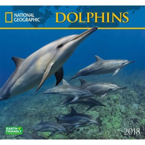 Calendar 2018 National Geographic National Geographic Dolphins 2018 Wall Calendar