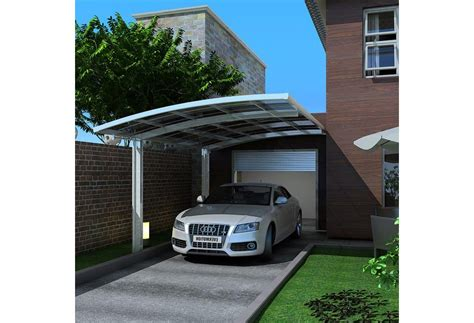 Single Car Port by Freestanding Polycarbonate Carport Single Car Canopy Carports Cantilever