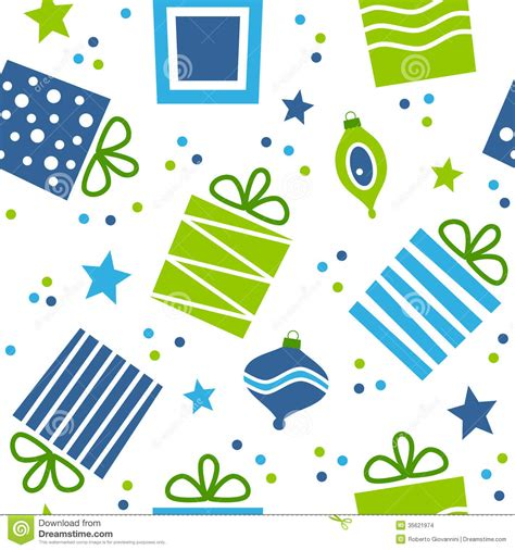 gift pattern vector christmas gifts seamless pattern stock images image