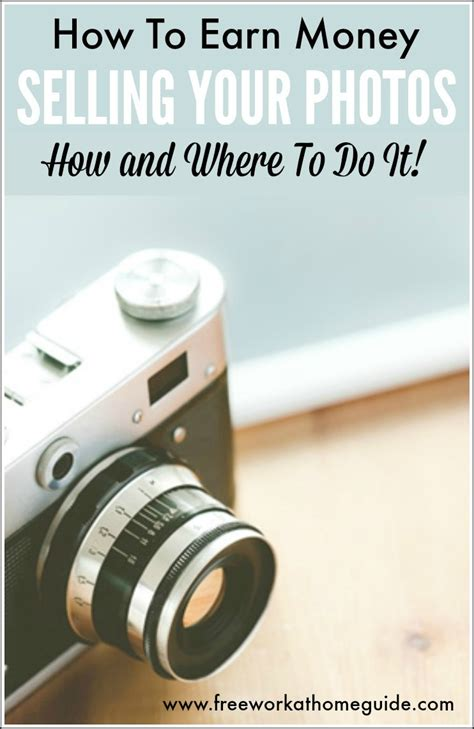 How To Make Money Online As A Photographer - earn money selling photos online how and where to do it best work from home jobs