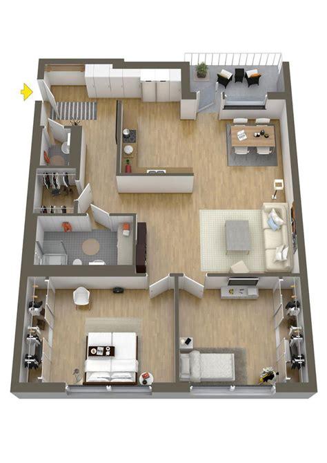 Sims House Floor Plans by 20 Plantas De Apartamentos De 2 Quartos Limaonagua