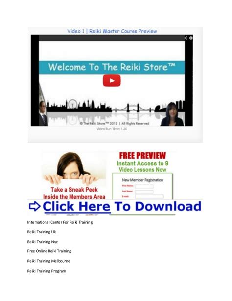 online tutorial net reiki training chicago reiki online training