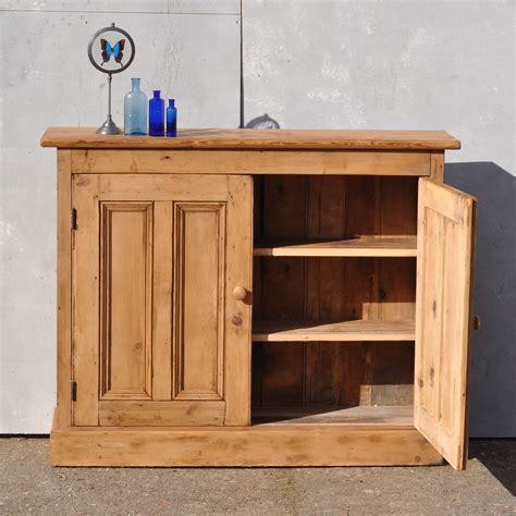 Reclaimed Pine Cupboard Doors reclaimed pine two door console cabinet