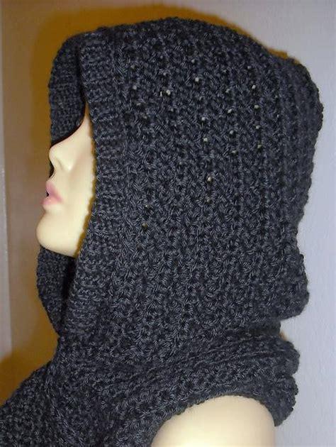 free pattern hooded scarf crochet hooded scarf by yolanda m craftsy