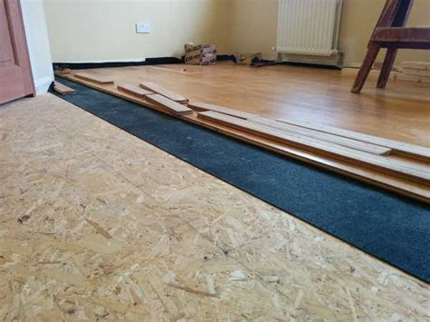 syl acoustic underlay for wood parquet and laminate floors shush soundproofing