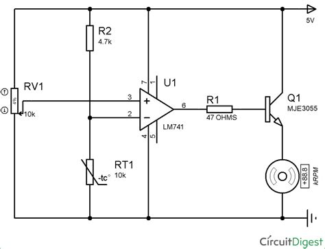 temperature thermistor circuit diagram wiring diagrams
