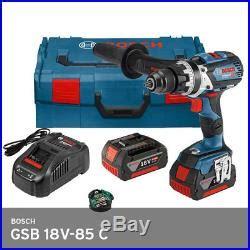 bosch gsb 18v 85 c pro. hammer drill bluetooth led 13mm