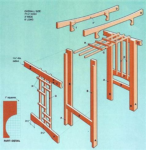 Wedding Arbor Design Plans by Pdf Plans Arbor Plans Wood Storage Building Home