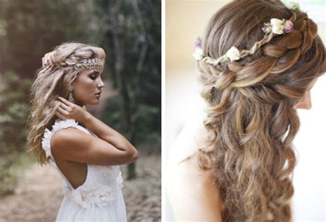 Wedding Hairstyles For Hair Boho by 2014 Boho Wedding Hair Styles Ideas Vpfashion