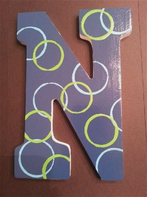painted wooden letter  painting wooden letters painted