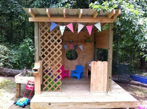 diy playhouse simple playhouse diy woodworking projects plans