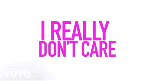 i dont care mp3 demi lovato really don t care official lyric video ft