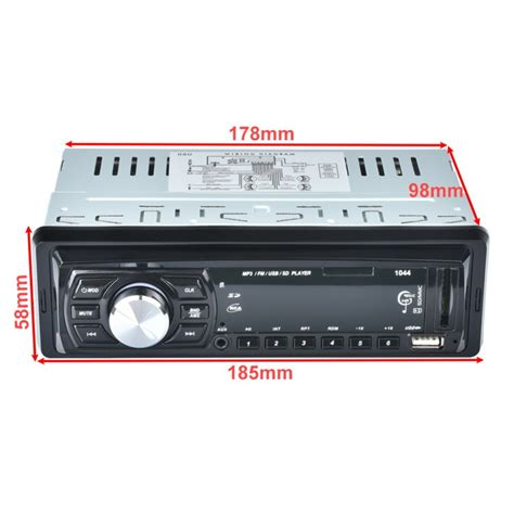 Audio Usb Mobil audio player mobil 12v 1din fm receiver aux usb sd slot