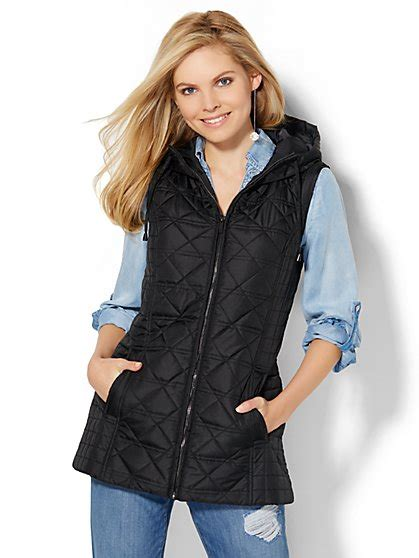 Lust List Shearling Puffer Vest by Jackets For S Coats Ny Co