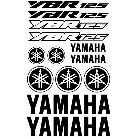 London Wall Stickers wallstickers folies yamaha ybr 125 decal stickers kit