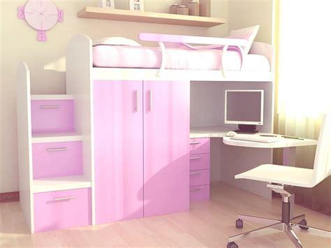 camas altas con escritorio abajo camas altas hogar10 es