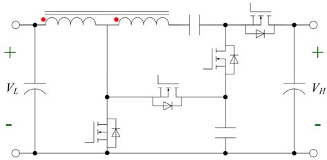 coupled inductor interleaved boost bidirectional coupled inductors step up converter for battery discharging charging 28 images