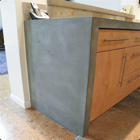 Kitchen Island Leg concrete pete sumac ave boulder