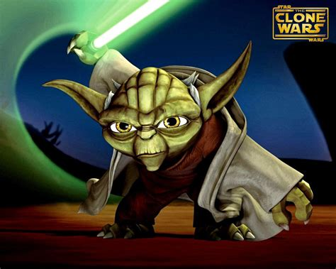 cartoon yoda wallpaper star wars clone wars images clone wars hd wallpaper and